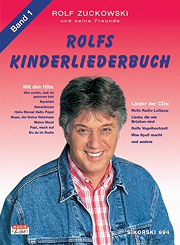 ch. Melodie, Akkorde, Gitarrengriffe: Rolfs Kinderliederbuch, Bd.1, Alle Lieder von Radio Lollipop, Was Spaß macht . . ., Rolfs Vogelhochzeit u. v. a. ()