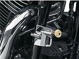 Lucchetto Blocca Casco Cromato da 32MM a 38MM x Moto Harley Honda Yamaha Triumph Kawasaki Suzuki Indian Victory