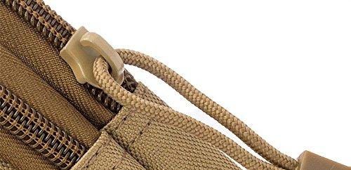 Unisex Multifunktion Wandern Hüfttasche Camping Outdoor Armee Tasche Trekking Bein Tasche Handy Gürteltasche Khaki