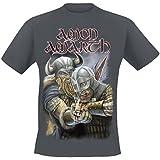 Amon Amarth First Kill T-Shirt charcoal
