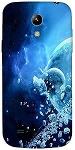 Timpax protective Armor Hard Bumper Back Case Cover. Multicolor printed on 3 Dimensional case with latest & finest graphic design art. Compatible with Samsung I9190 Galaxy S4 mini Design No : TDZ-26504