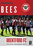 Brentford FC The Bees Official 2019 A3 Football Wall Calendar