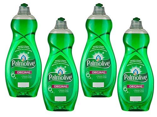 Palmolive Spülmittel Geschirrspülmittel Original 750ml–Lot de 4 (Geschirrspüler Mandel)