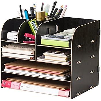 Mini scaffale da scrivania porta cancelleria multi for Scaffale da scrivania