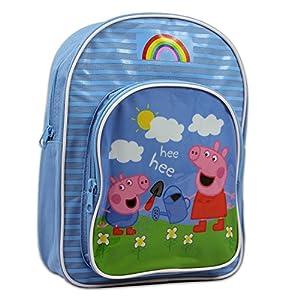 51NYzxqsowL. SS300  - Peppa Pig - Mochila para niñas - Peppa y George Pig