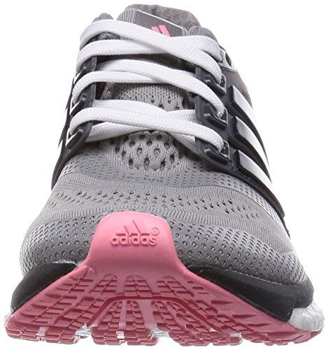 adidas Performance Energy Boost ESM Damen Laufschuhe Grau (Ch Solid Grey/Core Black/Super Pop F15)