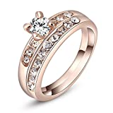 Carina Two In One 18k Rose Gold plated S...