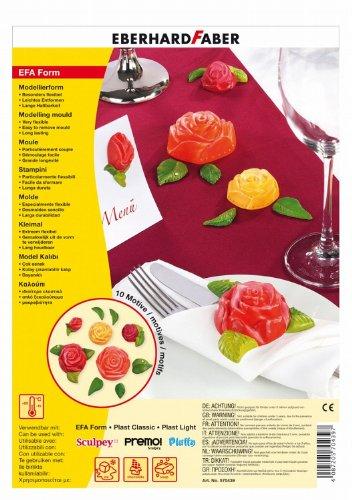 Eberhard Faber 570439 EFAForm Modellierformen, Rosen