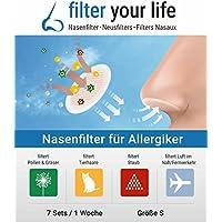 filter your life Nasenfilter Größe S, 14 Stück preisvergleich bei billige-tabletten.eu