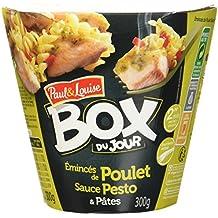Paul & Louise Box du Jour Émincé de Poulet Sauce Pesto et Pâtes 300 g -
