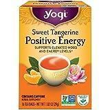 Yogi Herbal Tea Positive Energy Sweet Tangerine -- 16 Tea Bags by YOGI
