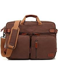 8f0633ff26 Coolbell umwandelbar Zaino Borsa A Tracolla Messenger Bag Laptop Borsa  Business cartella portadocumenti multifunzione zaino da