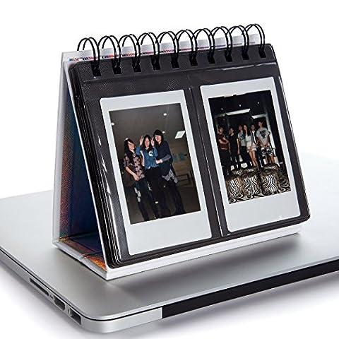 Woodmin Calendrier Album Photo de Fujifilm Instax Mini 70 7s