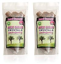 Ammi Samayal Palm Sugar Crystals Panangkarkandu, 200 Grams (Pack of 2)