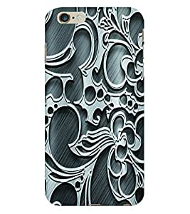 Fuson 3D Printed Pattern Designer Back Case Cover for Apple iPhone 6S Plus - D952
