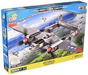 COBI- Lockheed P-38L Lightning, avión (5539)