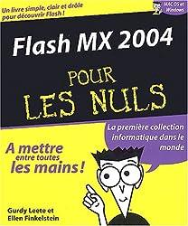 Flash MX 2004 pour les nuls