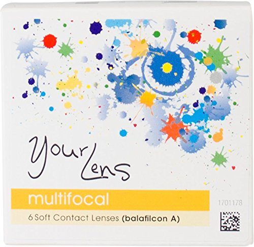 YourLens multifocal Monatslinsen Kontaktlinsen Spheric weich, 6 Stück/BC 8.60 mm/DIA 14.00