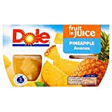 Dole Ananas Obstschalen In Saft (4X113G)