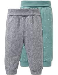 Schiesser Baby-Jungen Schlafanzughose, 2er Pack