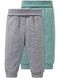 Schiesser Pantalones de Pijama Unisex bebé (Pack ...