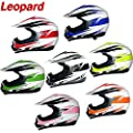 Brand:Leopard | LEO-X16 Junior Children Kids MX Motorbike Motocross Helmet Off Road from Touch Global Ltd