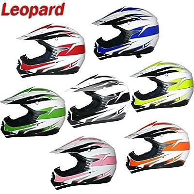 Brand:Leopard | LEO-X16 Junior Children Kids MX Motorbike Motocross Helmet Off Road from Touch Global Ltd