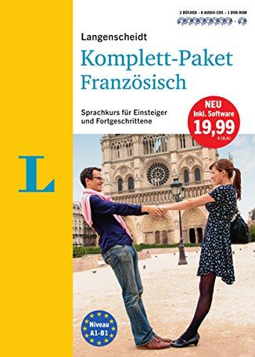 Langenscheidt Komplett-Paket Französisch - Sprachkurs mit 2 Büchern, 8 Audio-CDs, 1 DVD-ROM, MP3-Download: Sprachkurs für Einsteiger und Fortgeschrittene