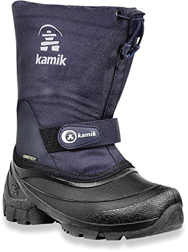 Kamik Waterbug5G NK8237 Unisex-Kinder Schneestiefel Blau