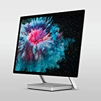 Microsoft Surface Studio 2 (LAM-00021), All in One Desktop, Intel Core i7-7820HQ, 28 Inch, 2TB SSD, 32GB RAM, NVIDIA GeForce GTX 1070, Windows 10 Pro, Eng-Ara KB, Silver [Middle East Version]