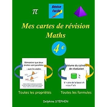 Mes cartes de révision Maths 4e
