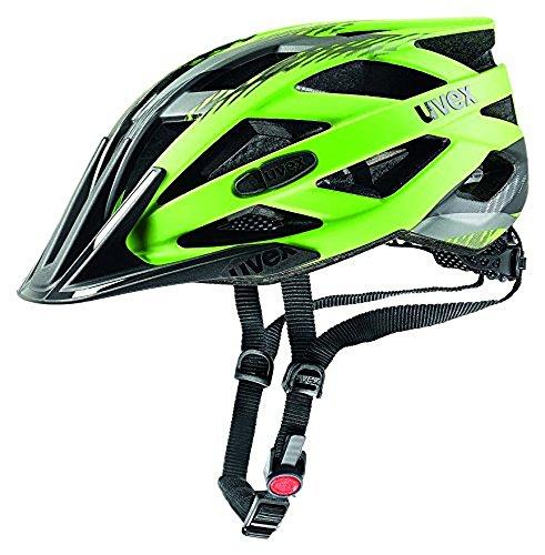Uvex I-Vo CC Casco de Ciclismo, Unisex Adulto, Verde/Negro, 56-60 cm