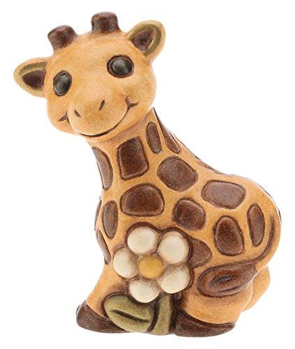Thun i classici giraffa, ceramica, multicolore, 6.2 x 5.5 x 8.6 cm