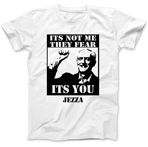 Jeremy Corbyn Tribute Labour T-Shirt 100% Baumwolle Wei�