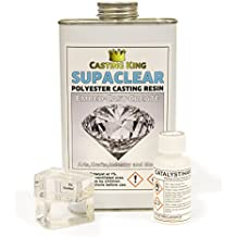 Casting King SUPACLEAR water clear casting resin (polyester) - 1kg