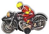 10588 - Wilesco Blechspielzeug - Motorrad, schwarz
