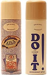 Lomani Elpaso And Do It Deodorant Spray - For Men��(400 Ml, Pack Of 2)