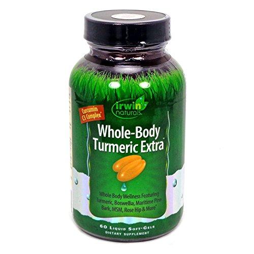 Irwin Naturals - Whole-Body curcuma Extra - 60 liquido Softgels