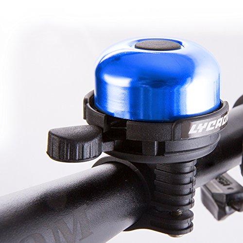 LYCAON Aluminum Fahrradklingel Klingel (Blau) (Fahrradklingel Für Kinder)