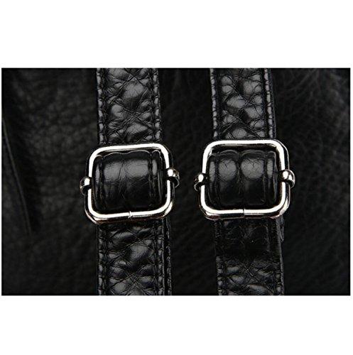 Rucksack-Frauen-modische Mode Einfach Black