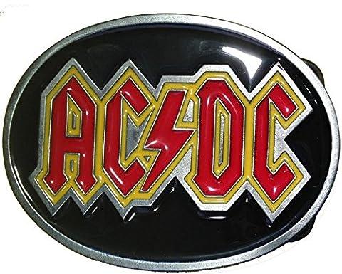 Licensed AC/DC belt buckle
