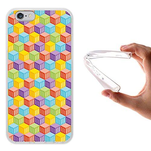 iPhone 6 6S Hülle, WoowCase Handyhülle Silikon für [ iPhone 6 6S ] Dinosaurier Handytasche Handy Cover Case Schutzhülle Flexible TPU - Transparent Housse Gel iPhone 6 6S Transparent D0061