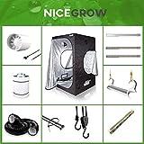 Nice Grow Set 60 Dark Box Komplettset LED 1 x 26W Wuchs 2 x 26W Blüte Secret Jardin