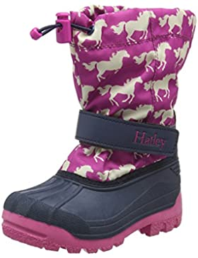Hatley Mädchen Fairy Tale Horses Winter Boot Stiefel, Rose