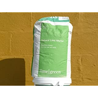 Linconshire Lime Green Natural Hydraulic Lime Mortar Nhl 5 (25Kg)
