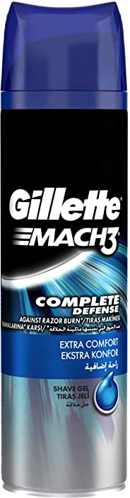 Gillette Mach3 Extra Comfort Shaving Gel 200ml