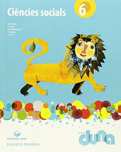 Ciències socials 6 (llibre) - Projecte Duna - 9788430719983