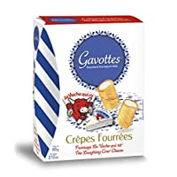 ‏‪Gavottes – Crepes filled with La Vache Qui Rit cheese, 60g (Pack of 1)‬‏
