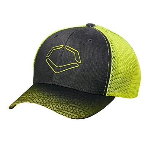 6dd5605887b0f EvoShield Neon Onslaught Flex Fit Hat Black Neon Small-Medium