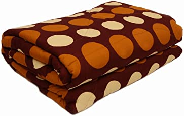 Standard Printed Double Bed AC Comforter (Multicolour, SQ_103)